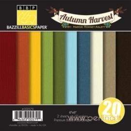 "Popieriaus rinkinys ""Autumn Harvest"", 15,4x15,4 cm"