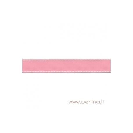 """Ripsinė juostelė """"Pink Dashed"""", 22 mm, 1 m"""