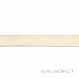 """Ripsinė juostelė """"Cream Dashed"""", 22 mm, 1 m"""