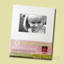 "Magnetinis nuotraukų rėmelis ""Large Magnetic Photo Frame - White"", 22,9x30,5 cm"