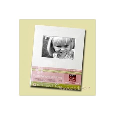 "Magnetinis nuotraukų rėmelis ""Large Magnetic Photo Frame - White"", 22,9x30,5 cm"