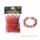 Loom bands apyrankių gaminimo rinkinys, raudona ir balta sp.