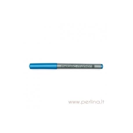 "Metalizuotas rašiklis ""Metallic Marker - Blue"", mėlynos sp., 1 vnt."