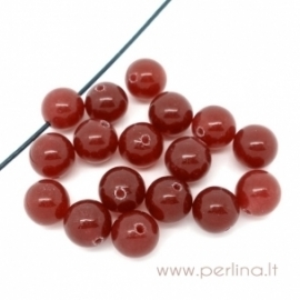 Synthetic gemstone, round, 8 mm