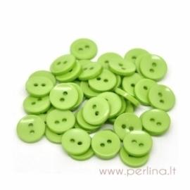 Akrilinė saga, žalios sp., 15 mm