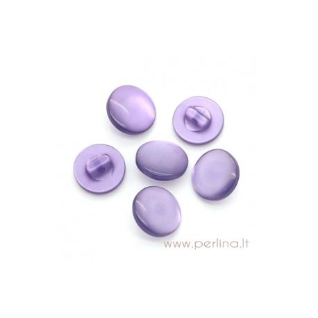 Akrilinė saga, violetinės sp., 12 mm