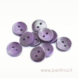 Medinė saga, tamsiai violetinės sp., 15 mm