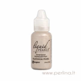 "3D perlamutriniai dažai ""Liquid Pearls Platinum Pearl"", 18 ml"