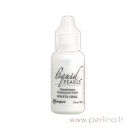 "3D perlamutriniai dažai ""Liquid Pearls White Opal"", 18 ml"