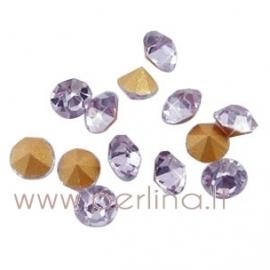 Stiklo akutė, Light Violet, SS6, 10 vnt