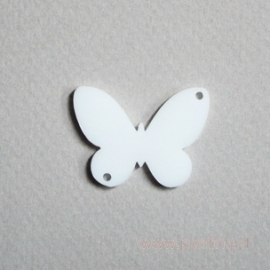 "Plexiglass finding ""Butterfly 5', 3x2,2 cm, 1 pc"