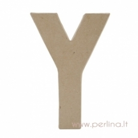 Kartoninė raidė Y, 20x14,5x2,5 cm