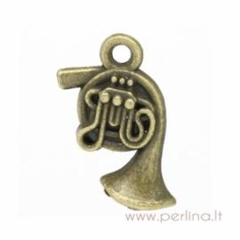 "Pakabukas ""Voltorna"", ant. bronzos sp., 18x11 mm"
