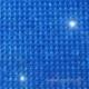 """Žėrinčių kristalų lipnus lapas """"Navy"""", 27x53 cm"""