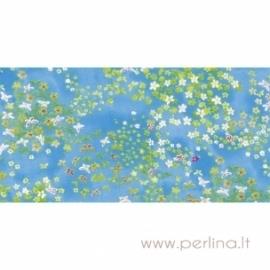 "Plonas dekoravimo popierius ""Blue field"", 30x40 cm, 3 vnt."