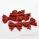 """Akrilinis intarpas """"Kaspinas"""", 4,7x3,7 cm"""