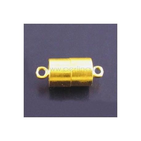 Užsegimas magnetinis, paauksuotas., 17x7 mm