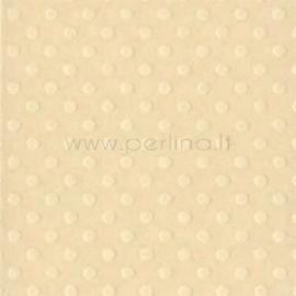 "Popierius ""Dotted Swiss - Sandbox"", 30,5x30,5cm"