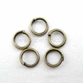 Žiedelis, ant. bronzos sp., 5x0,7 mm, 20 vnt