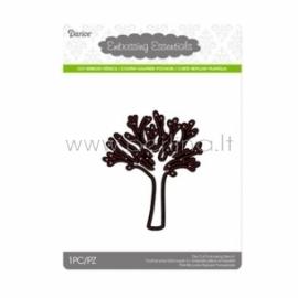 "Kirtimo formelė ""Die cut stencil tree"", 76x92 mm, 1 vnt."
