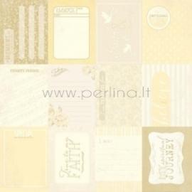 """Popierius """"Enhancements - Faith Collection"""", 30,5x30,5 cm"""