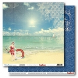 "Popierius ""Touching Story - Holiday Romance"", 30,5x30,5 cm"