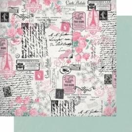 "Popierius ""Collected - Classique: Pretty Collection"", 30,5x30,5 cm"