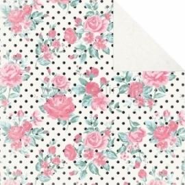 """Popierius """"Rosette - Classique: Pretty Collection"""", 30,5x30,5 cm"""