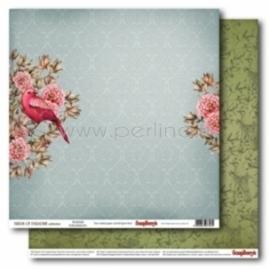 "Popierius ""Warble - Birds of Paradise"", 30,5x30,5 cm"