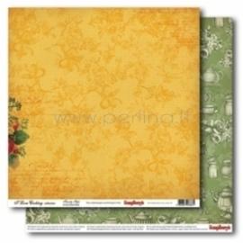 "Popierius ""Family Style - I love Cooking"", 30,5x30,5 cm"