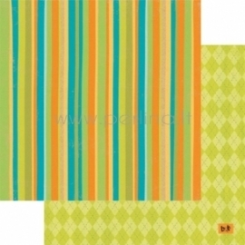 """Popierius """"Nice Day - Basik&Ko"""", 30,5x30,5 cm"""