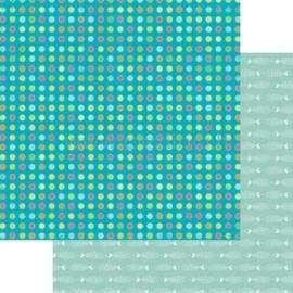 """Popierius """"Fish&Cheaps - Basik&Ko"""", 30,5x30,5 cm"""