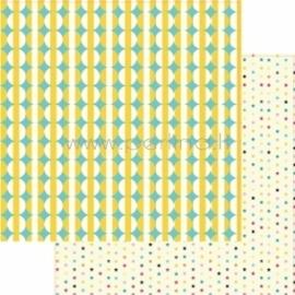 """Popierius """"Stars - This Summer"""", 30,5x30,5 cm"""
