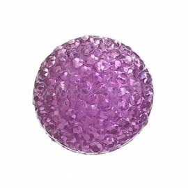 Akrilinis kabošonas, violetinės sp., 10 mm