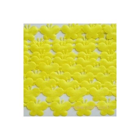 """Juostelė """"Drugeliai"""", geltona, 13 mm, 2 m"""