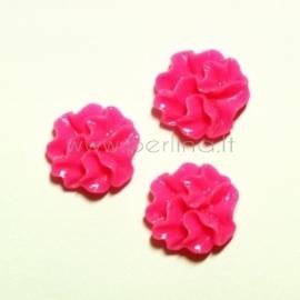 Akrilinis kabošonas-gėlė, fuksijos sp., 12 mm