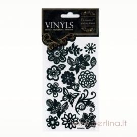 """Vinyls lipdukai """"Flower"""", 14 vnt."""