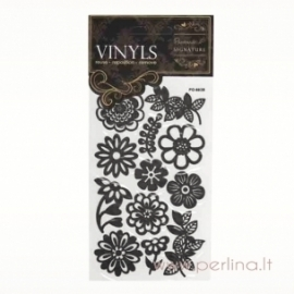 """Vinyls lipdukai """"Flower"""", 12 vnt."""