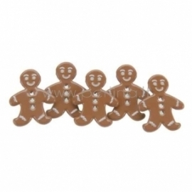 """Dek.vinukai """"Gingerbread Boys"""", 12 vnt."""