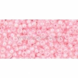 TOHO biseris, skaidrus vaivorykštinis Ballerina Pink (171), 11/0, 10 g