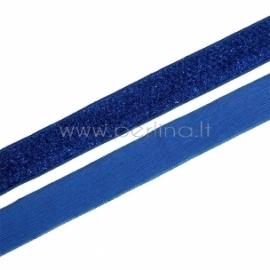 Poliesterio juostelė, mėlyna su blizgučiu, 20 mm, 1 m