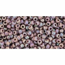 TOHO biseris, matinis vaivorykštinis Lavender (412), 11/0, 10 g