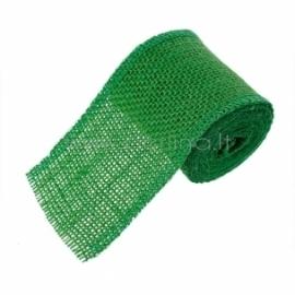 Džiuto juostelė, žalia, 6 cm, 2 m