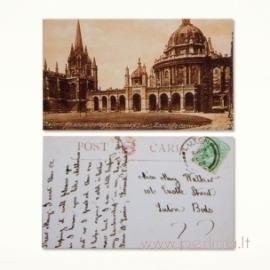 """Mini atvirlaiškis """"Londono rūmai"""", 4x7 cm"""