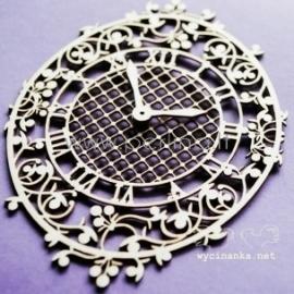 "Chipboard ""Blueberry Swirls - clock"", 1 pc"