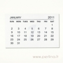 2011 m. kalendoriaus lapeliai