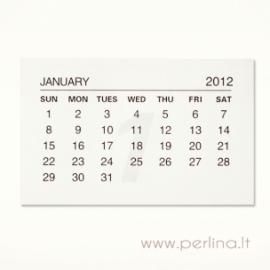 2012 m. kalendoriaus lapeliai