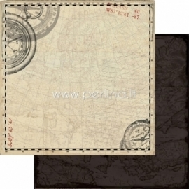 "Popierius ""Voyage - Abroad Collection"", 30,5x30,5 cm"
