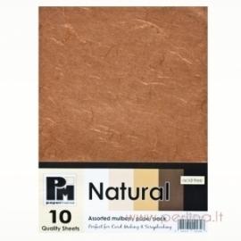 """Ryžinis popierius """"Brown"""", 15x21 cm"""