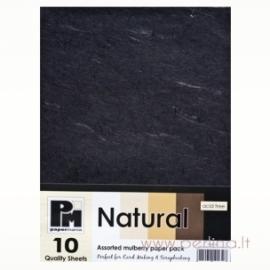 """Ryžinis popierius """"Black"""", 15x21 cm"""